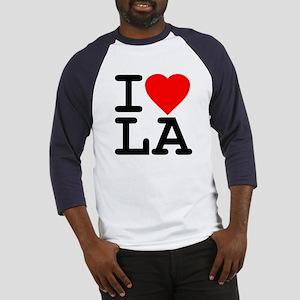I Love LA Baseball Jersey
