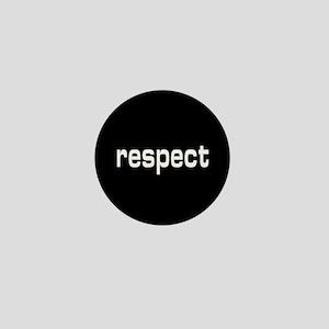 respect Mini Button