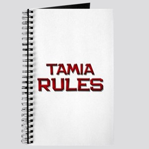 tamia rules Journal