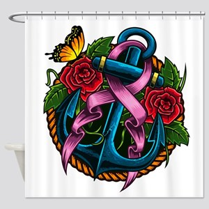 Breast Cancer Awareness - Preventio Shower Curtain