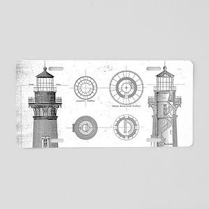 Vintage Bodie Island Lighth Aluminum License Plate