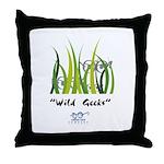 Wild Geeks Throw Pillow
