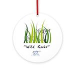 Wild Geeks Ornament (Round)