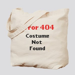 error 404 costume not found Tote Bag