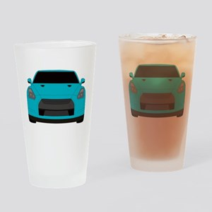 gtr front Drinking Glass