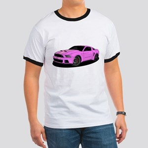 Muscle car purple T-Shirt