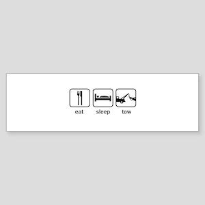 Eat Sleep Tow Bumper Sticker