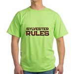 sylvester rules Green T-Shirt