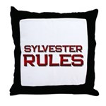 sylvester rules Throw Pillow