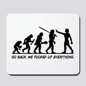 Go Back Evolution Mousepad