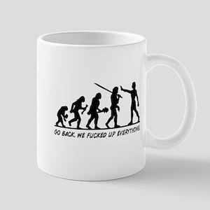 Go Back Evolution Mugs