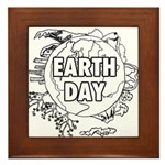 Earth Day 2011 Framed Tile