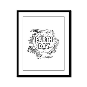 Earth Day 2011 Framed Panel Print