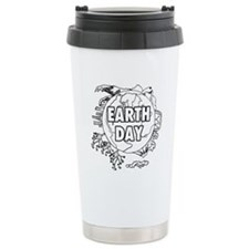 Earth Day 2011 Stainless Steel Travel Mug