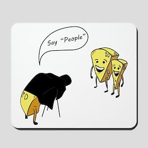 Say People Mousepad