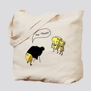 Say People Tote Bag