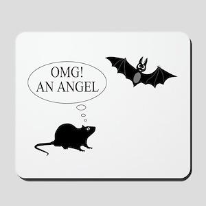 Omg An angel Mousepad