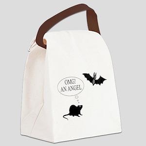 Omg An angel Canvas Lunch Bag
