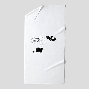 Omg An angel Beach Towel
