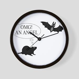 Omg An angel Wall Clock