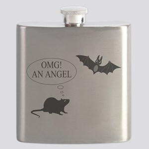 Omg An angel Flask