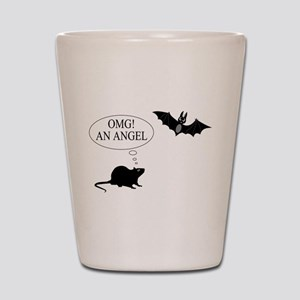 Omg An angel Shot Glass