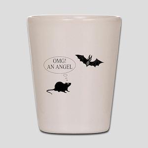 Omg An angel Shot Glass