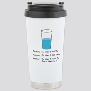 Optimist pessimist engineer Mugs