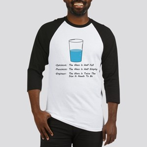 Optimist pessimist engineer Baseball Jersey