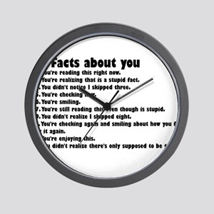 10 Facts about you Wall Clock