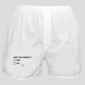 Are you drunk? Boxer Shorts
