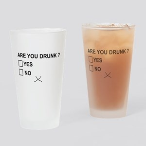 Are you drunk? Drinking Glass