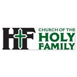 Church Of The Holy Family Bumper Sticker