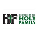 Church Of The Holy Family Wall Decal