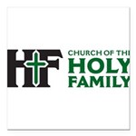 Church Of The Holy Family Square Car Magnet 3