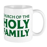 Church Of The Holy Family Mugs