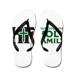 Church Of The Holy Family Flip Flops