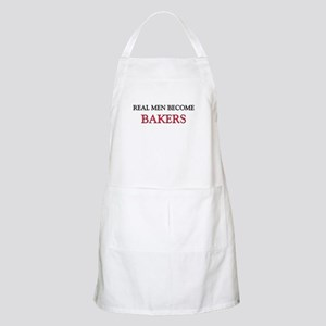 Real Men Become Bakers BBQ Apron