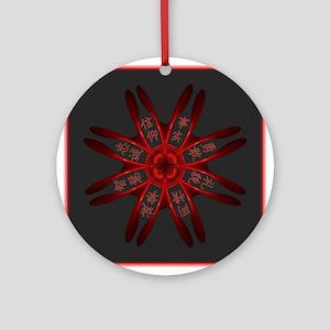 Kenpo Tenets Ornament (Round)