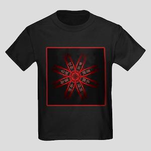 Kenpo Tenets Kids Dark T-Shirt