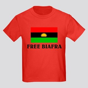 Free Biafra Kids Dark T-Shirt