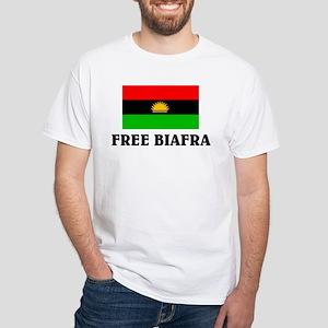 Free Biafra White T-Shirt