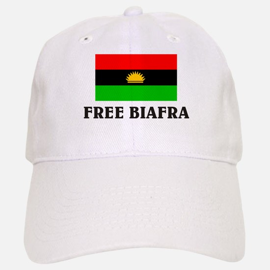 Free Biafra Baseball Baseball Cap