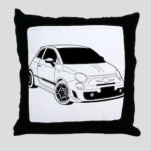 500 black Throw Pillow