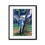 Dragonfly Fairy Framed Panel Print