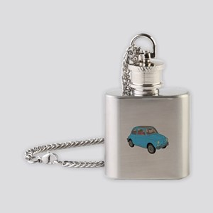 500 1957 blue Flask Necklace