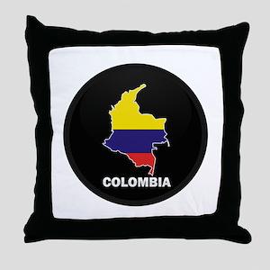 Columbia 4 Throw Pillow