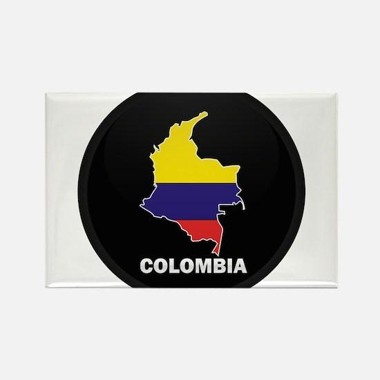 Columbia 4 Rectangle Magnet