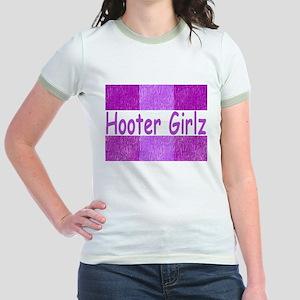 Hooter Girlz Jr. Ringer T-Shirt