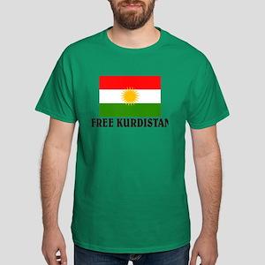 Free Kurdistan Dark T-Shirt